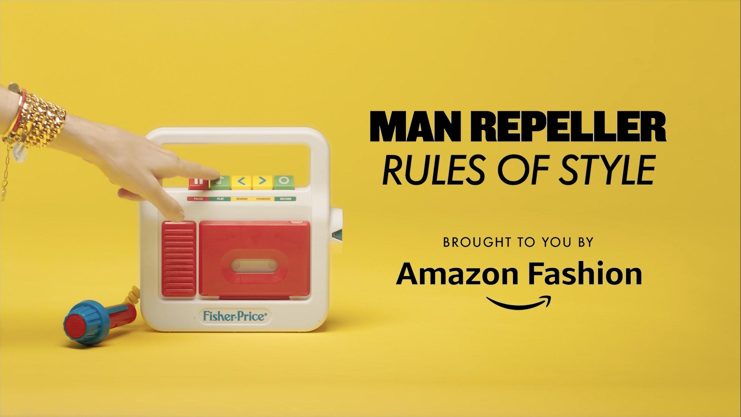 AMAZON FASHION   MAN REPELLER ADVERTORIAL