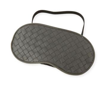 Uh huh, with your  Bottega Veneta Leather Sleep mask , GURL!