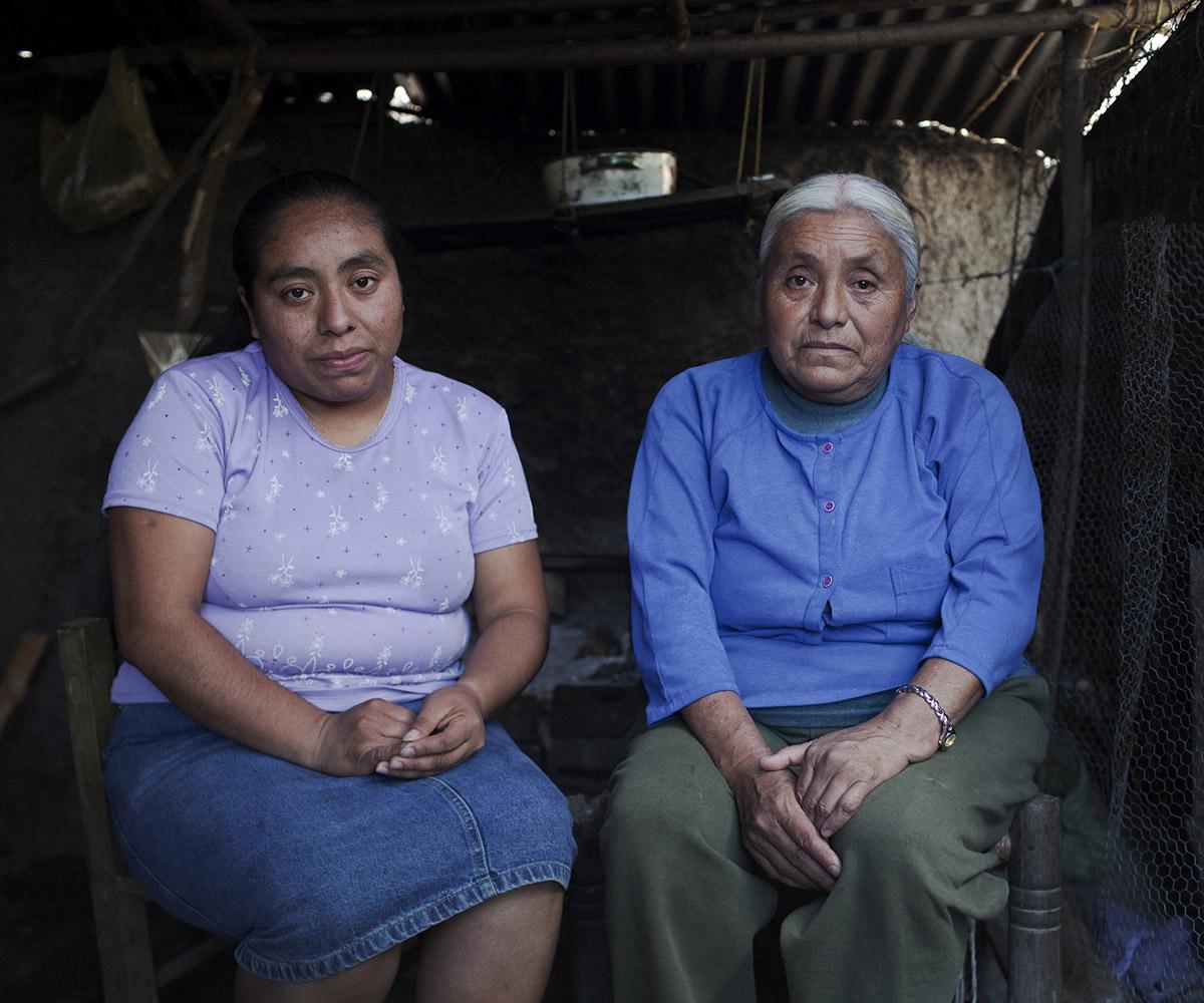 AMALIA ZHOTENCO AND HER MOM