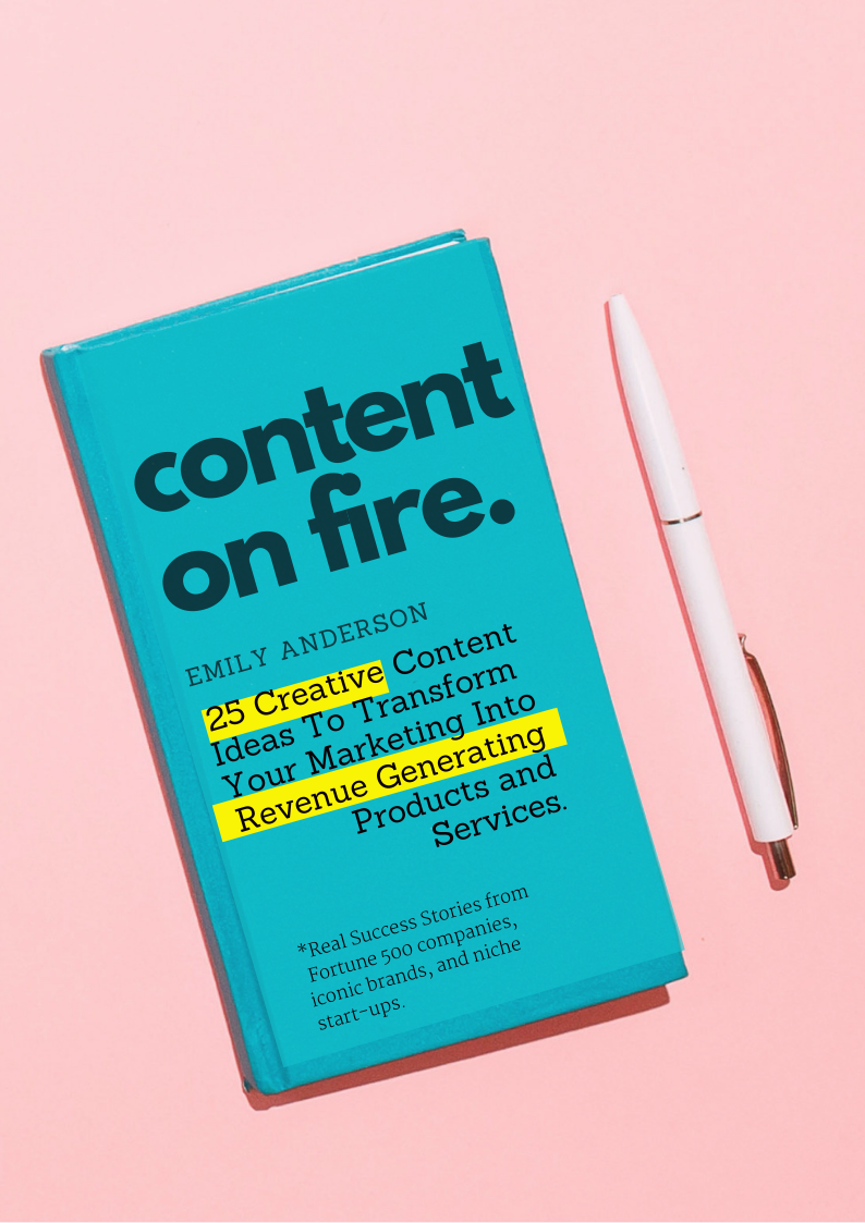 What if everything you think you know about CONTENT marketing is wrong? - What if you don't have to spend money on marketing-at all?Mind-blown?Learn how I helped Martha Stewart, Vanity Fair Magazine, Donna Karan New York ignite their message, spark engagement and accelerate impact. Get the free guide.