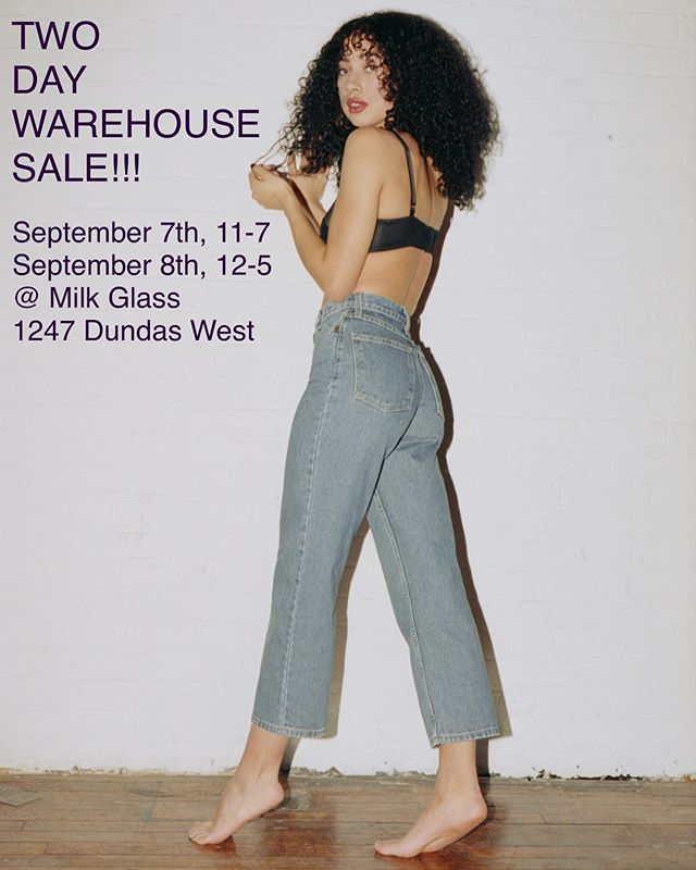 Psst psst....mega crazy warehouse sale next weekend. Items priced as low as $10. Yeah $10. I SAID WHAT I SAID! More deets to come💕