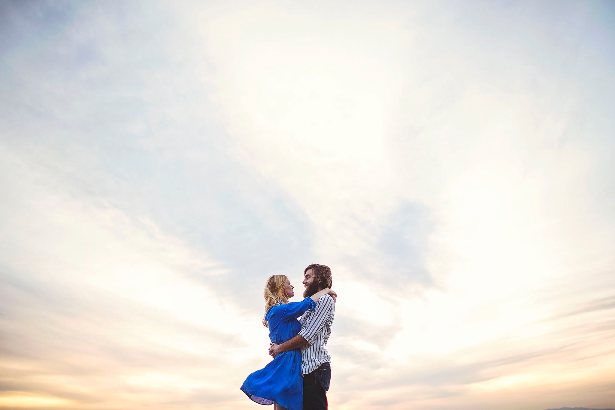 Liz Anne Photography | Piedra Lisa Canyon | Albuquerque | New Mexico | Engagement Session 01