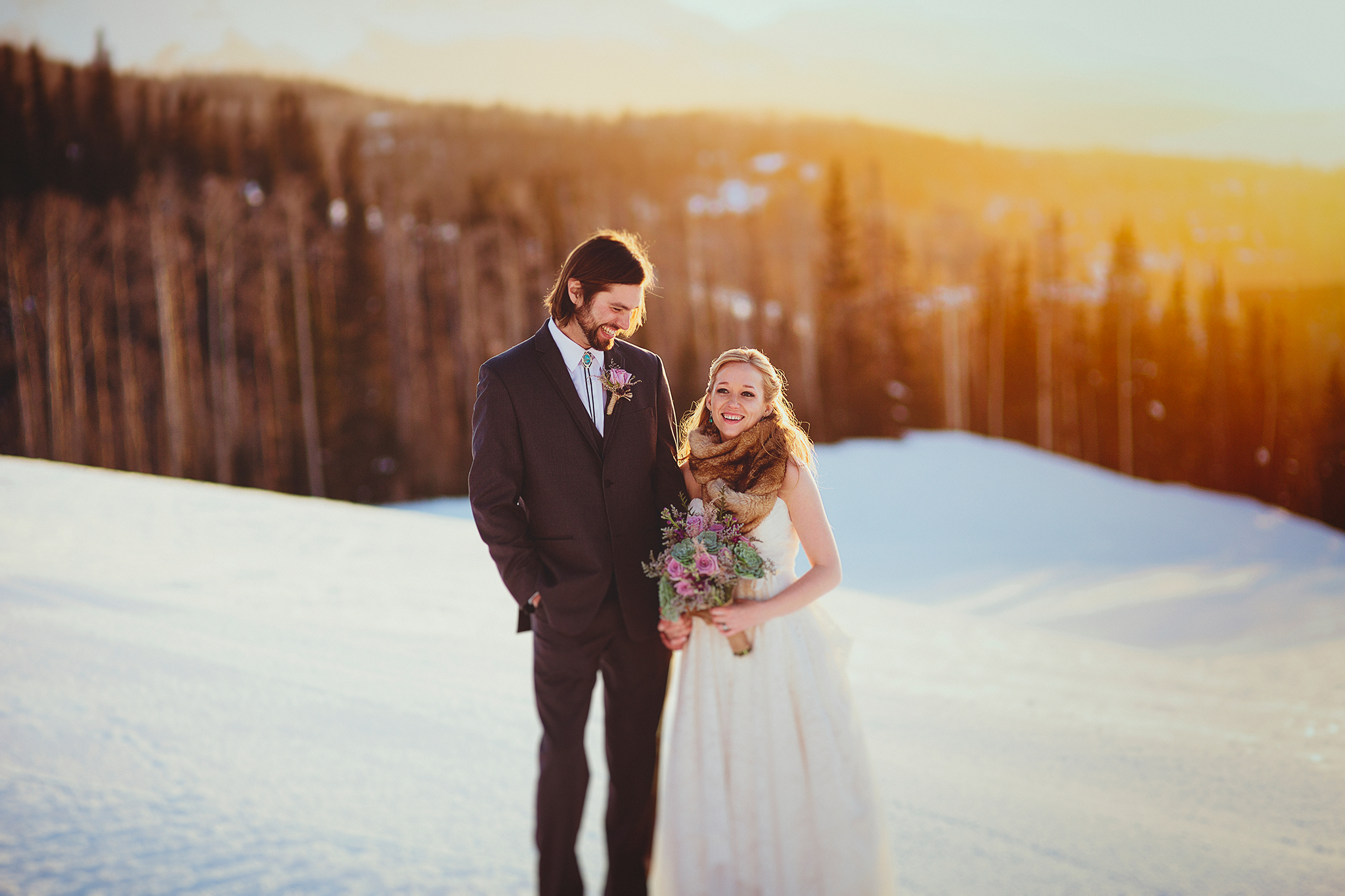 Colorado Wedding | Telluride | Mountain | Snow | Liz Anne Photography 01