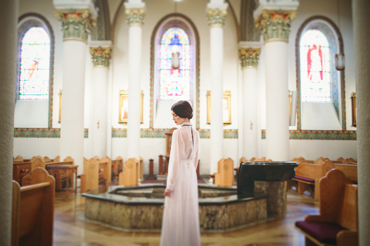 Liz Anne Photography   Santa Fe   New Mexico   Wedding   Cathedral Basilica of St. Francis of Assisi   Portrait   Styled 01