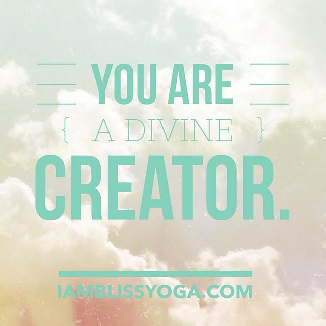 You are a divine creator. What are you creating in your life? #powerwithin #inspiredliving #selfempowermemt #selfdevelopment #selfgrowth #youaredivine