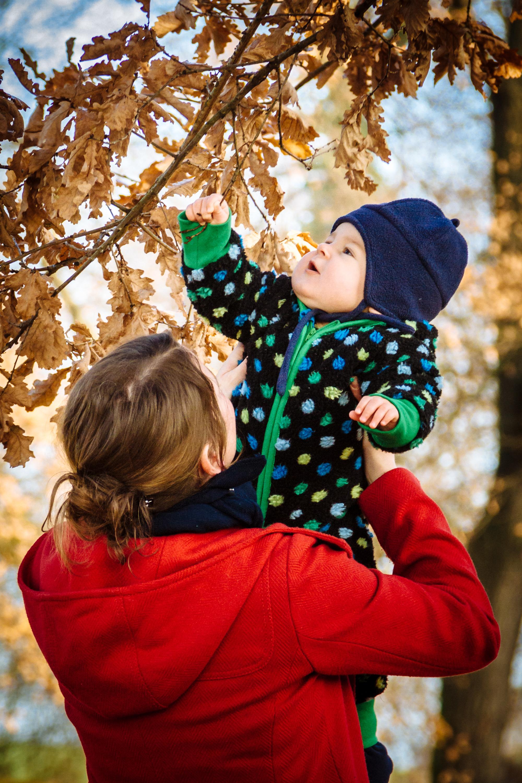 Herbstliche Familienfotos