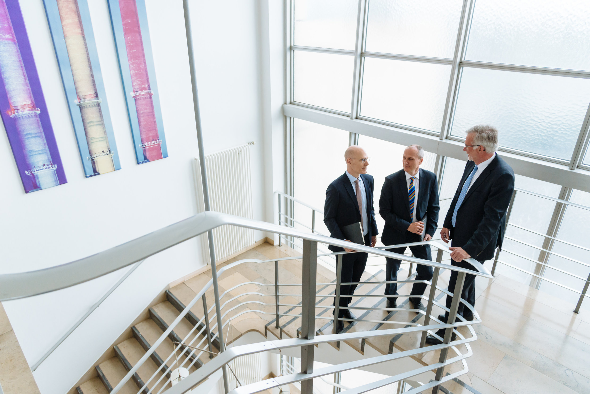 Die Geschäftsführung der Interargem, Bielefeld 2017