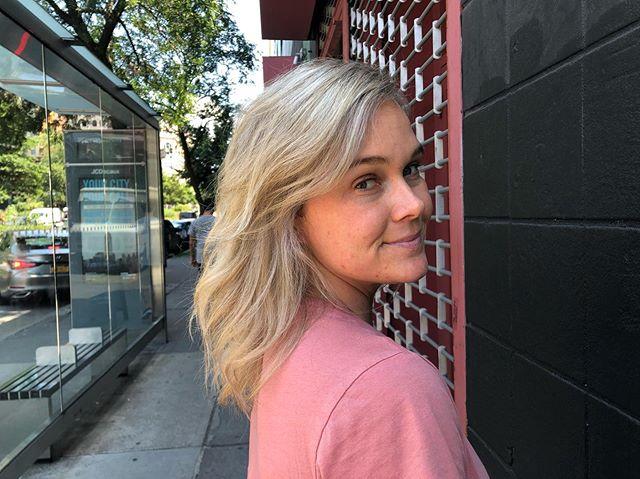 Bing bang blonde ✨  #nycstylist #newyorkblonde #shadeseq #olaplex
