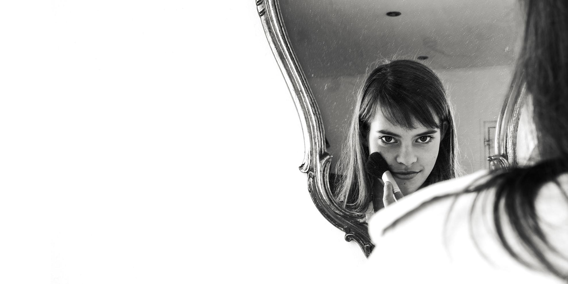 portret spiegel mirror portrait