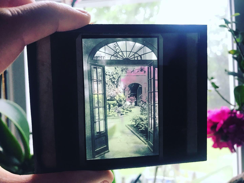 vintage photo slide