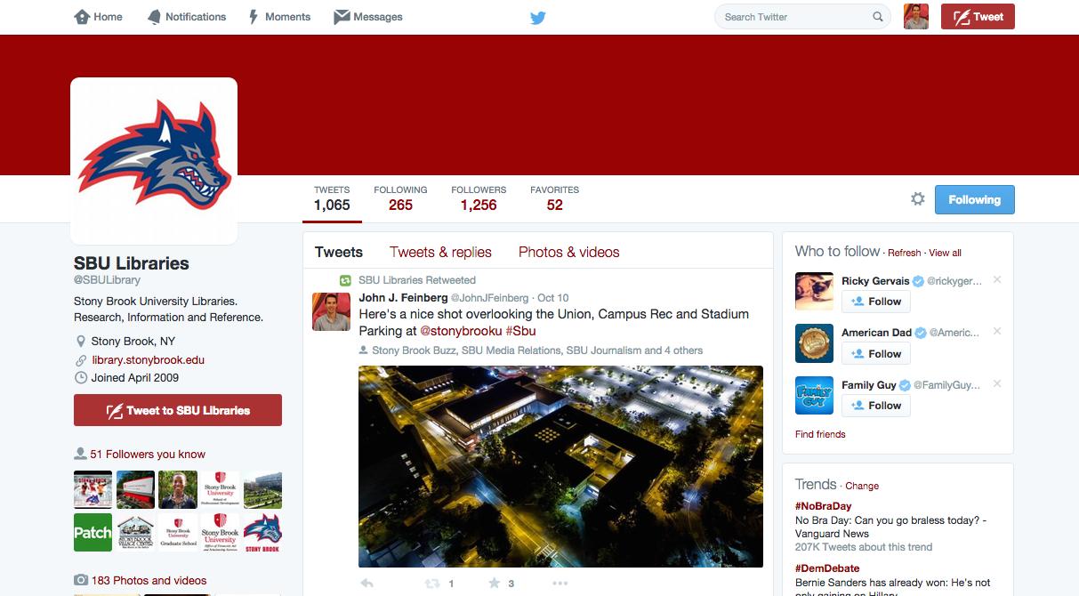 SBU Libraries Twitter Retweet.png