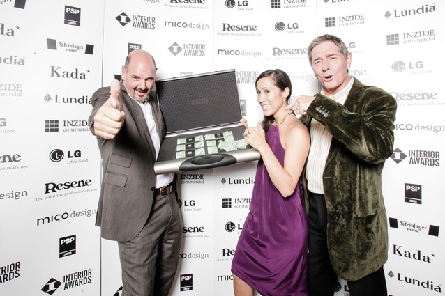 Andrew Patterson + Jo Aitken (Architects) and Kevin Chapman (Client)