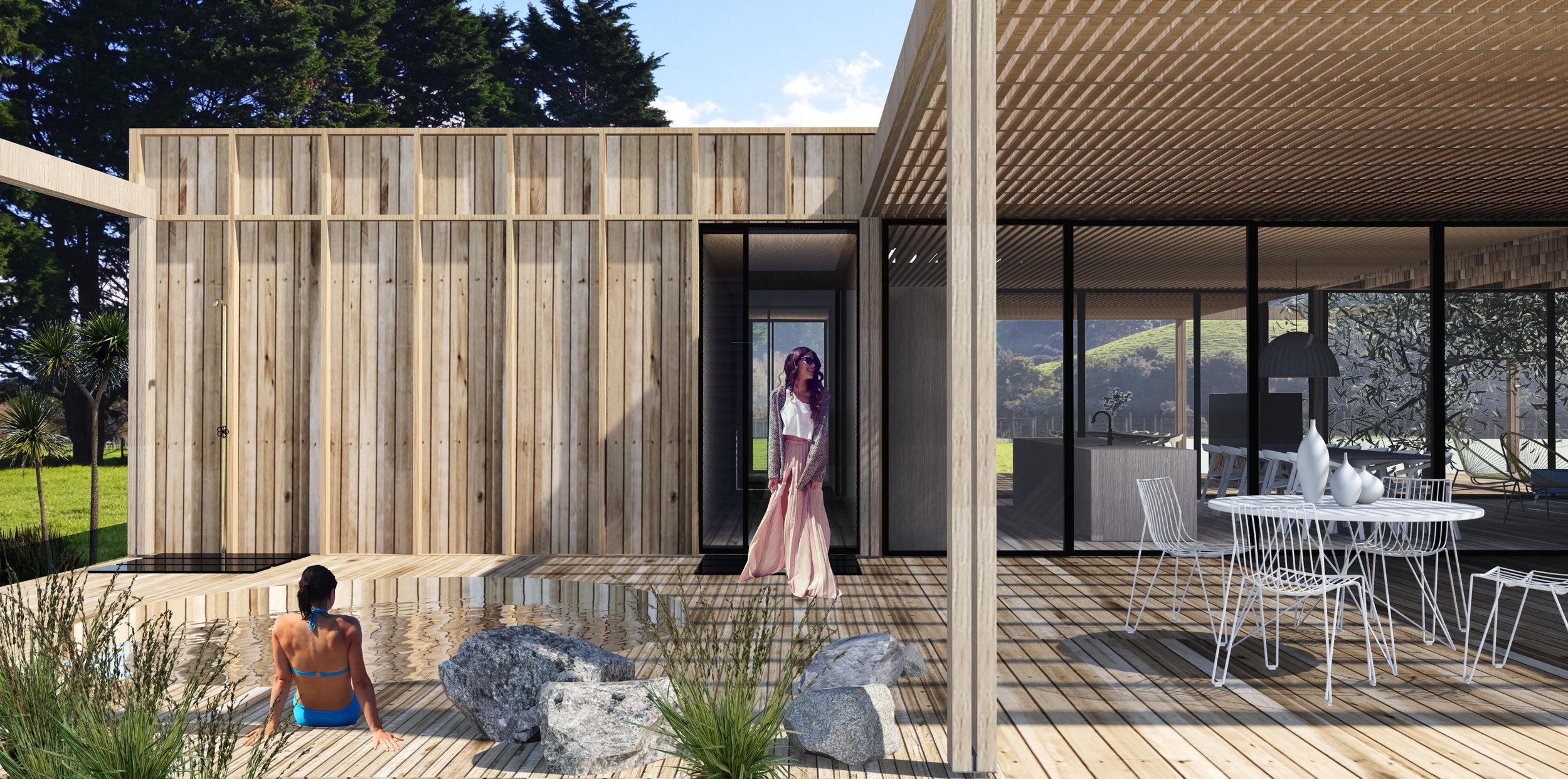 atelier aitken architect mangawhai heads modular prefab house