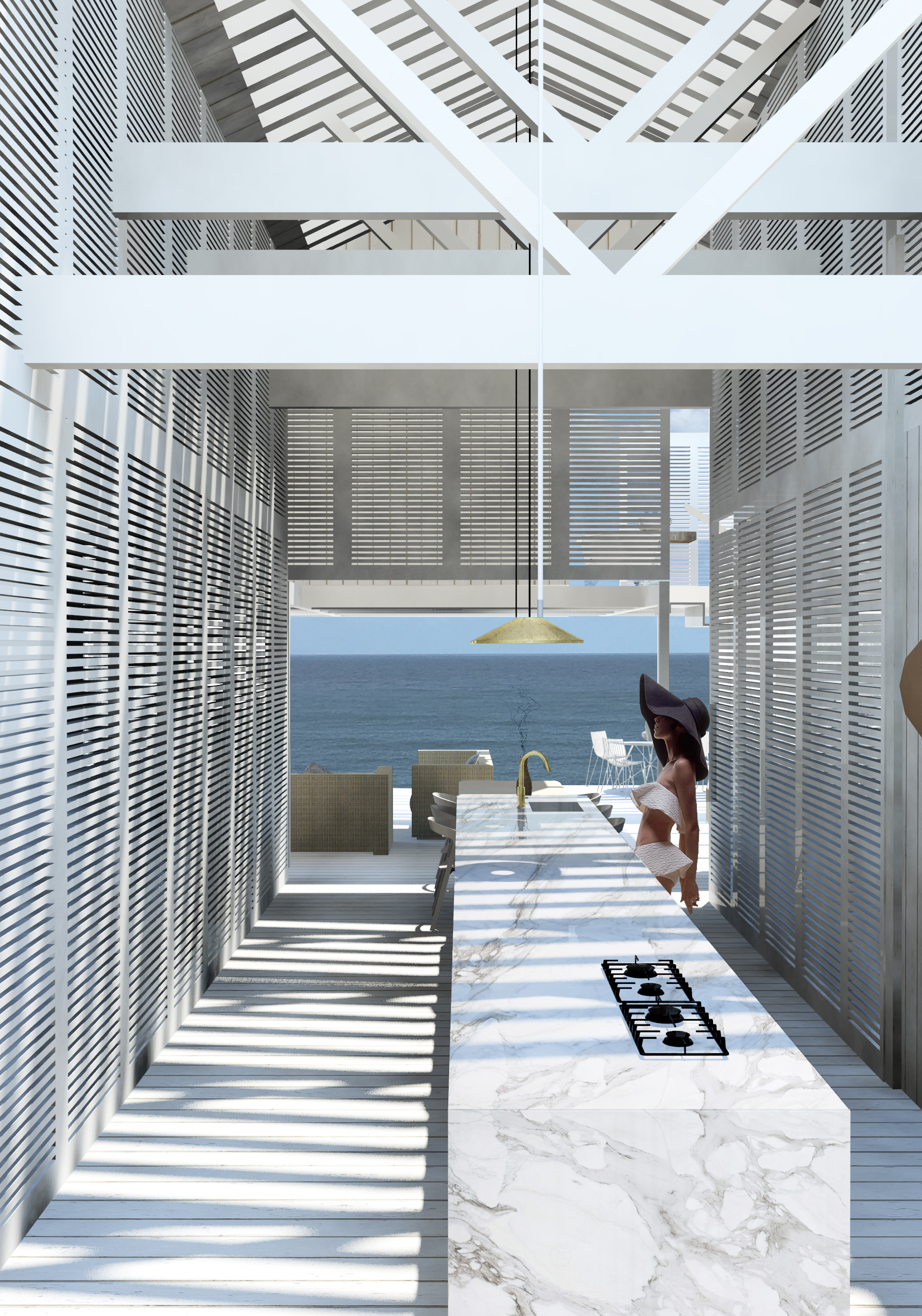 atelier aitken architect beach house byron bay australia