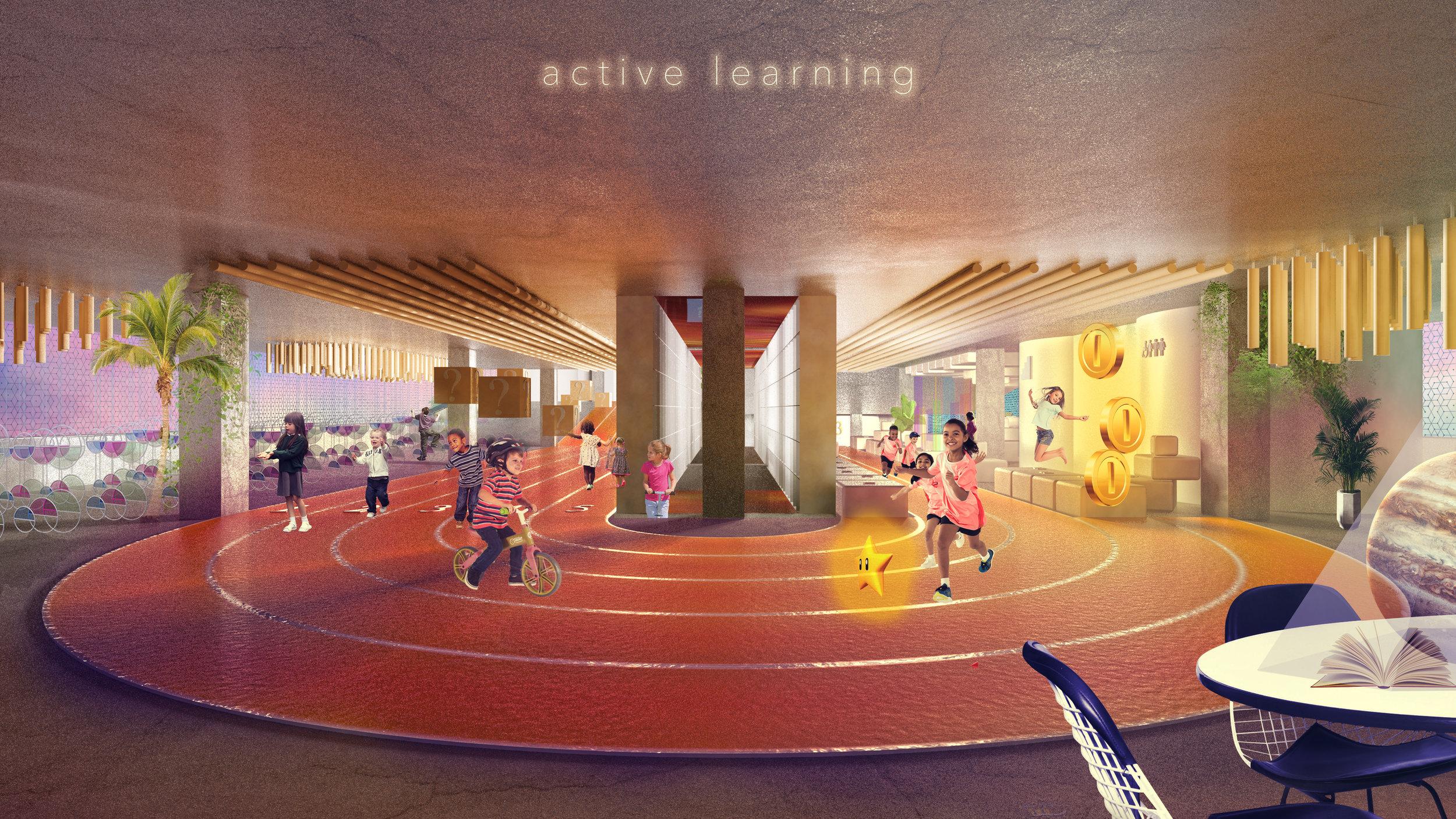 Atelier Aitken Architecture Urban Library Track SXSW Finalist