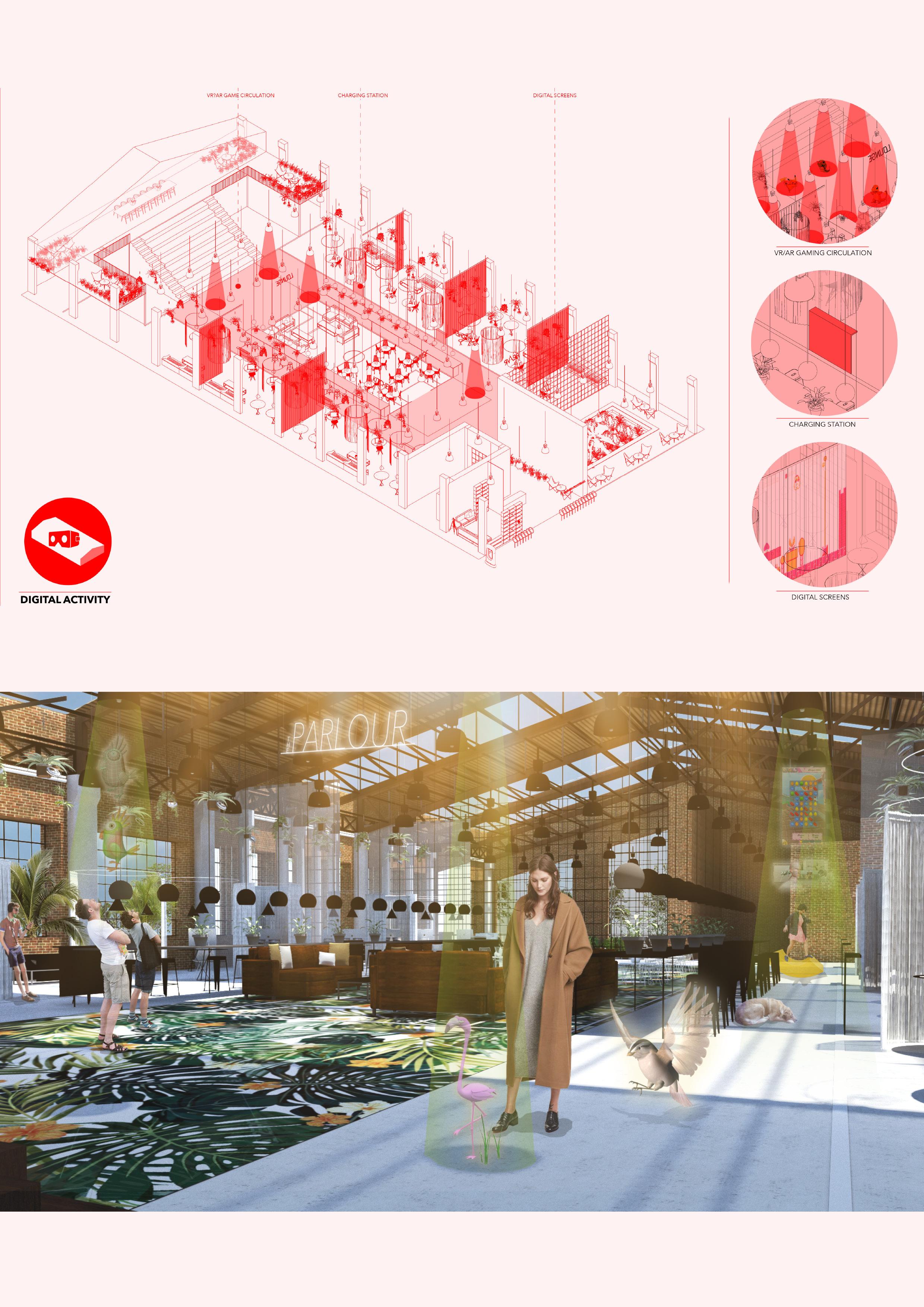 Atelier Aitken Modern Workplace design - Digital Activation