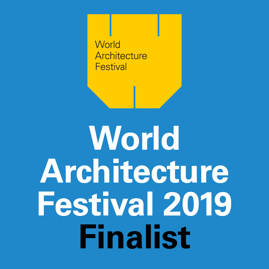We are very excited to announce that we have been named as finalists in the 2019 World Architecture Awards, to be held in December in Amsterdam, The Netherlands.