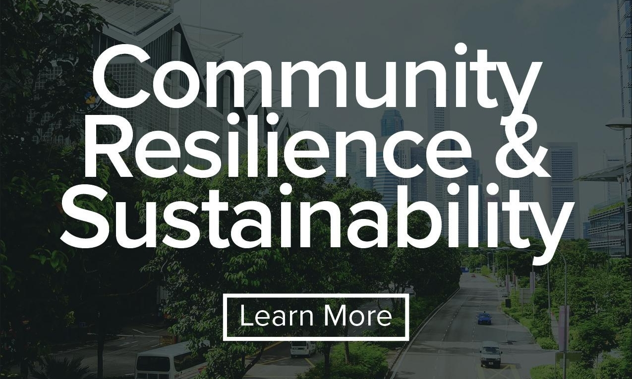 Supporting municipalities and districts in developing more sustainable and resilient communities