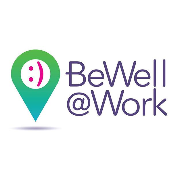 "BeWell@Work LOGO – Affinion Group's onsite wellness clinic. Making it easy and convenient for employees to access healthcare and stay healhy. This logo combines the iconic pin drop graphic with the classic keystroke smiley face. Together, these design elements say ""Happiness and wellness are right here!"" Proud to be awarded an honorable mention in Graphis Design Annual 2019. @graphis_inc – #ostrodesign #affiniongroup #graphicdesign #branddesign #brandidentity #logo #logos #logodesign #logodesigner #logodesigners #logoconcept #logoinspire #logomaker #logoart #logodesigns #logodesignlove #visualidentity #visualidentitydesign #humanresources #wellness #wellnesscampaign #mindfulness #wellnessclinic #workplacewellness"
