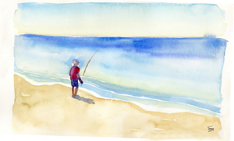 Gone Fishin, by Twomey