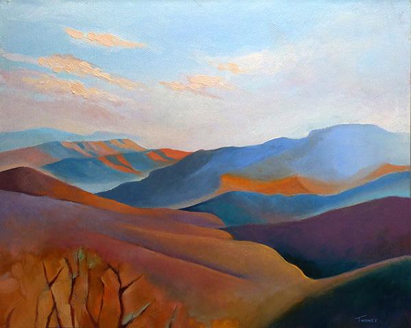"""East Fall Blue Ridge 4.0"" by C. Twomey"