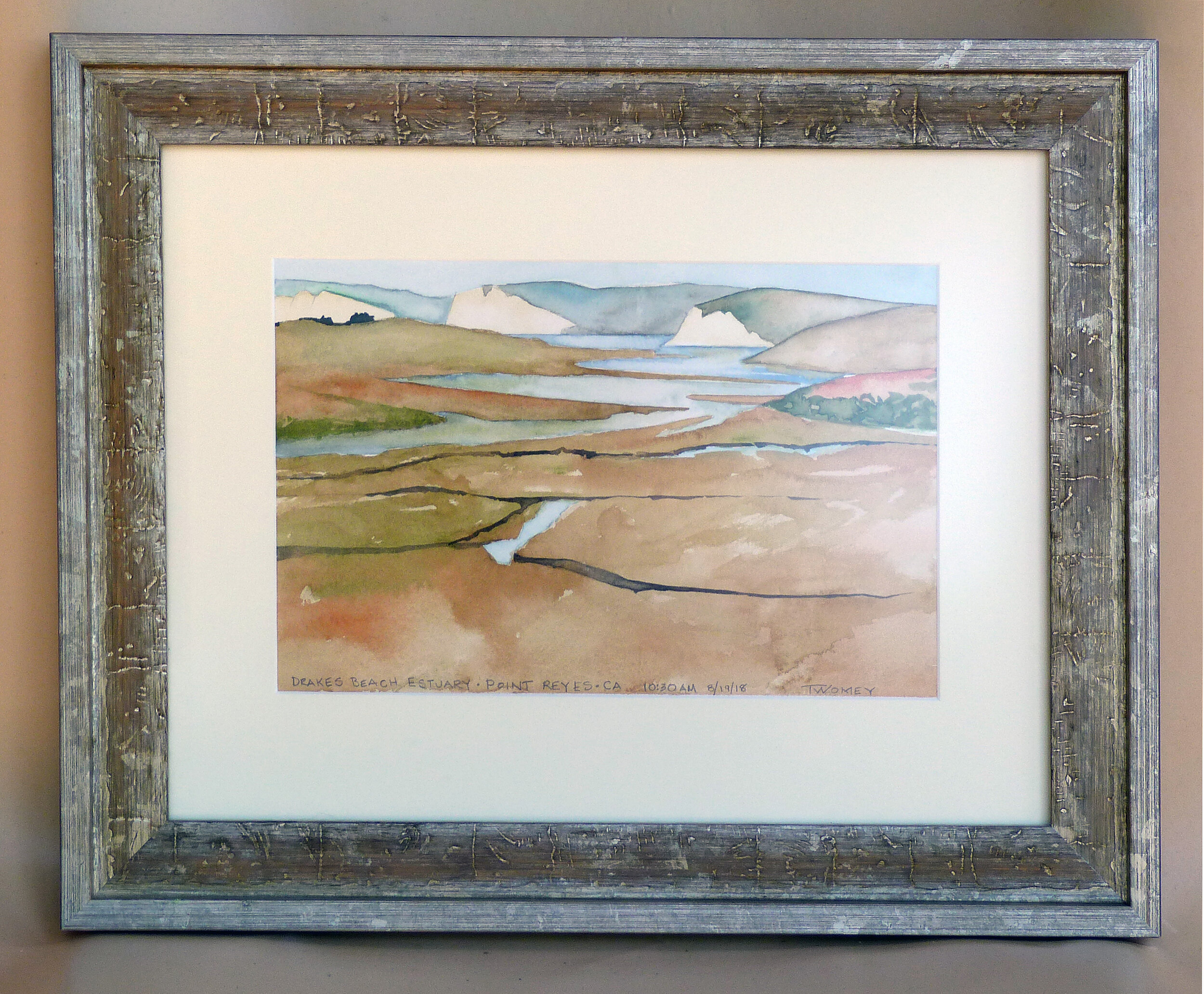 """Point Reyes Estuary"" by C. Twomey"