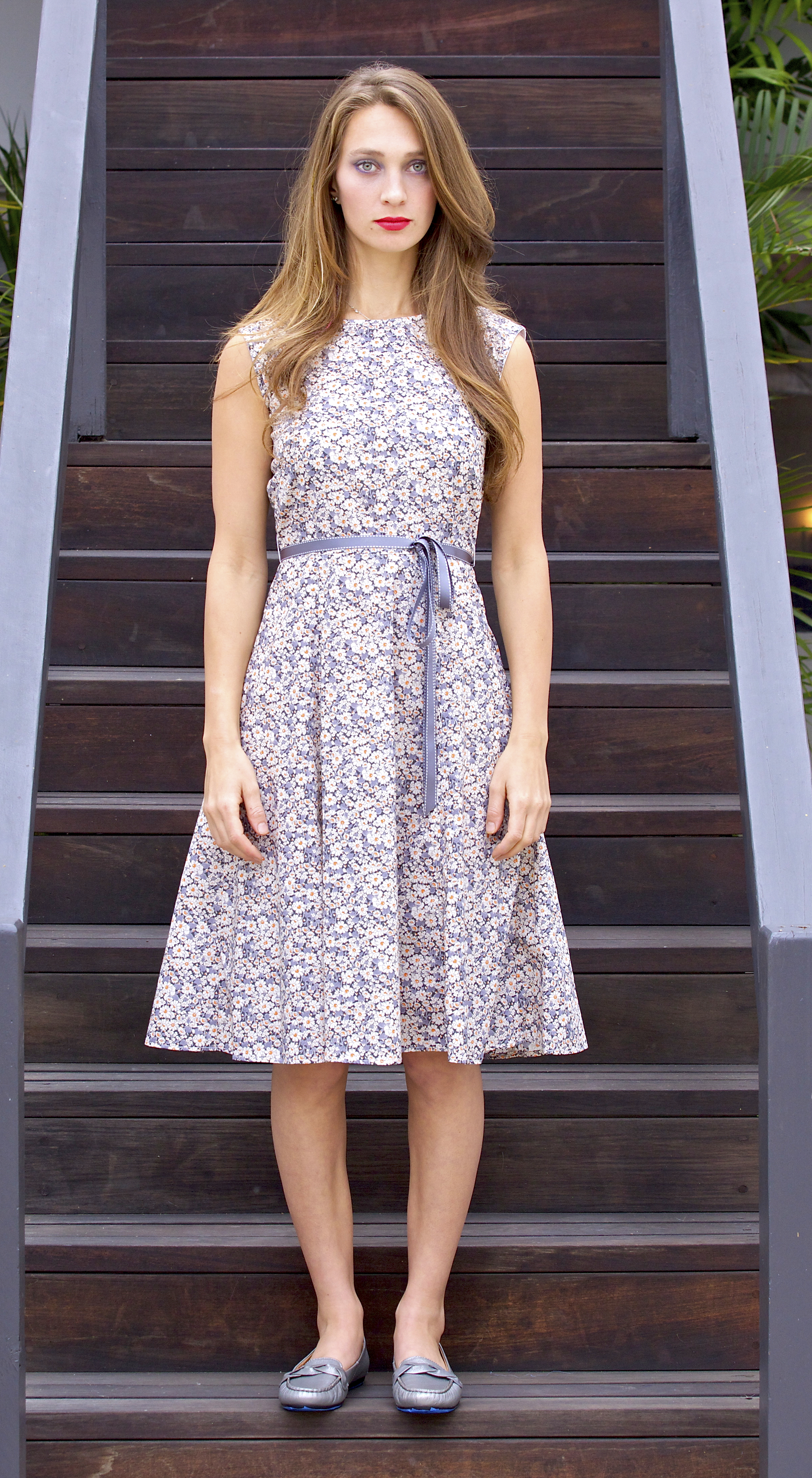 Swing Dress in Liberty London Print