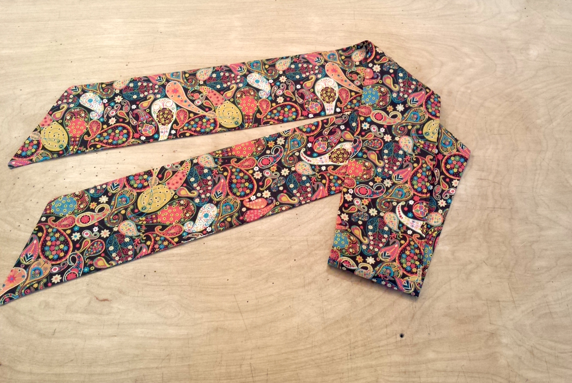 Liberty Print Scarf. Double-Sided Skinny Scarf. 4 Liberty Prints. Holiday Gift. Made to Order.
