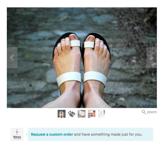 NikolaSandals Handmade Leather Sandals
