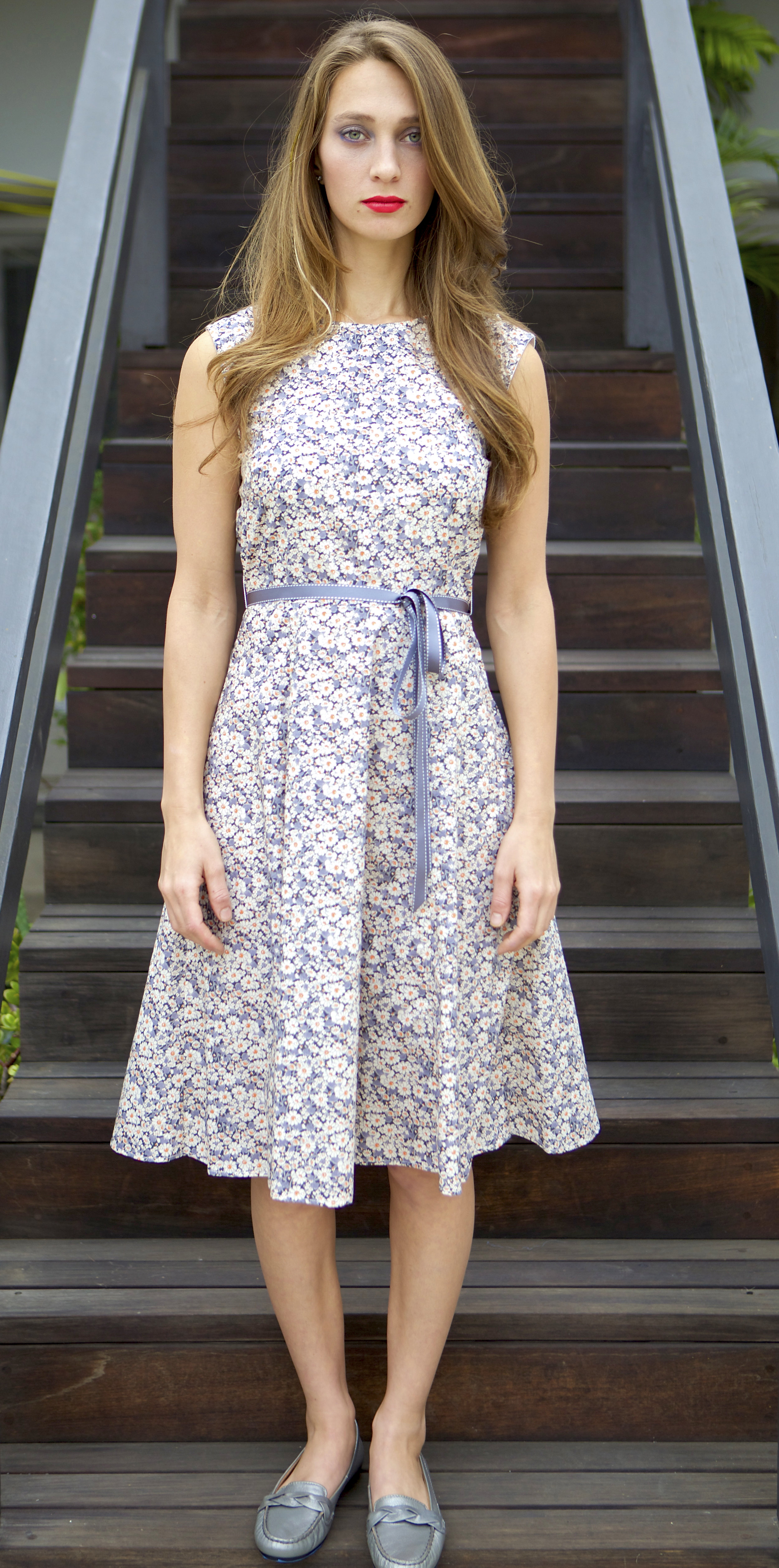 Liberty Floral Swing Dress