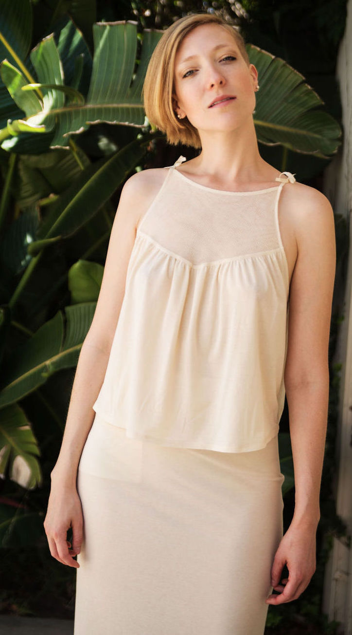 Baby Doll Top in Jersey