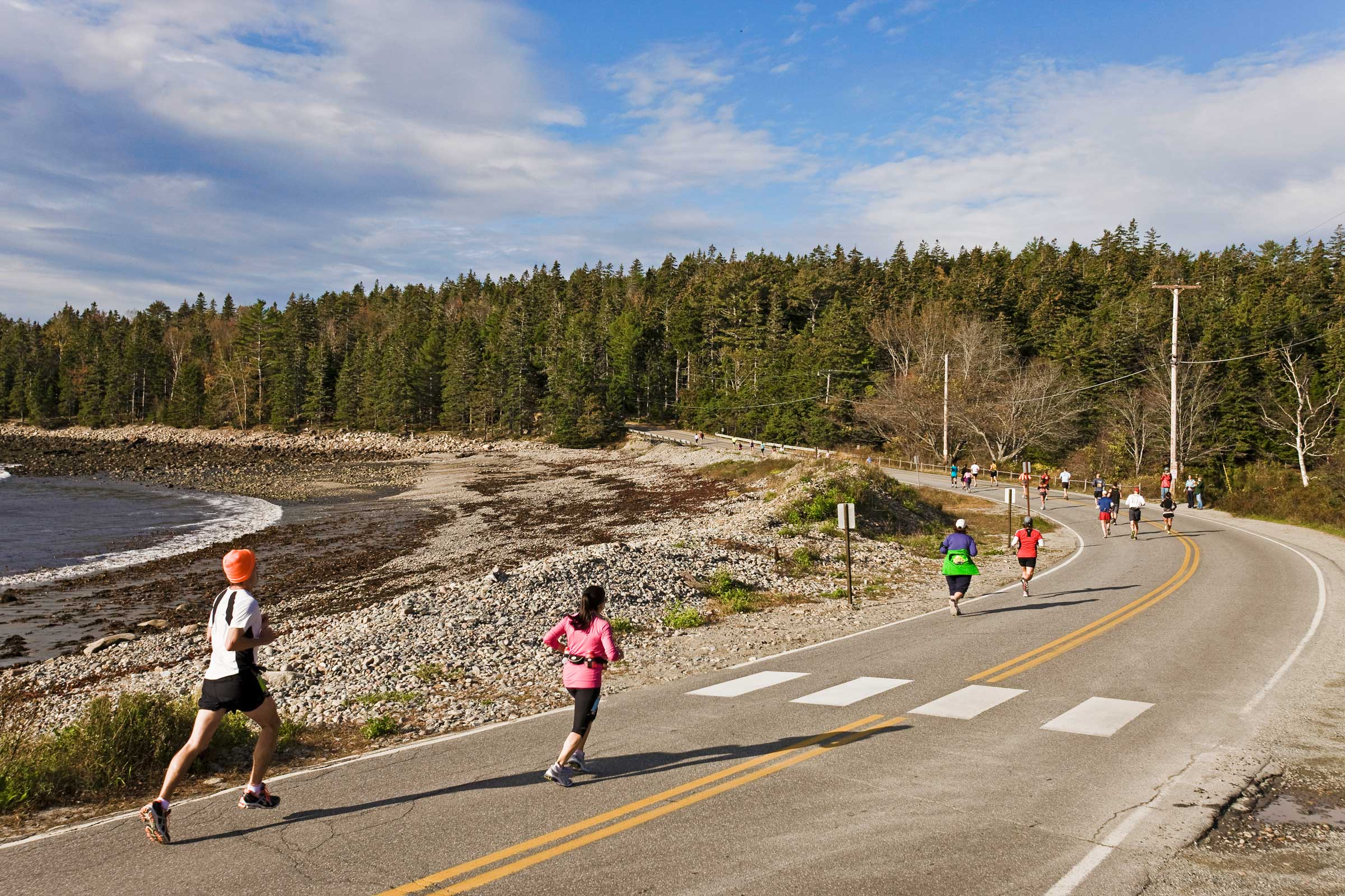 Bracy Cove, MDI Marathon - photo by Kevin Morris