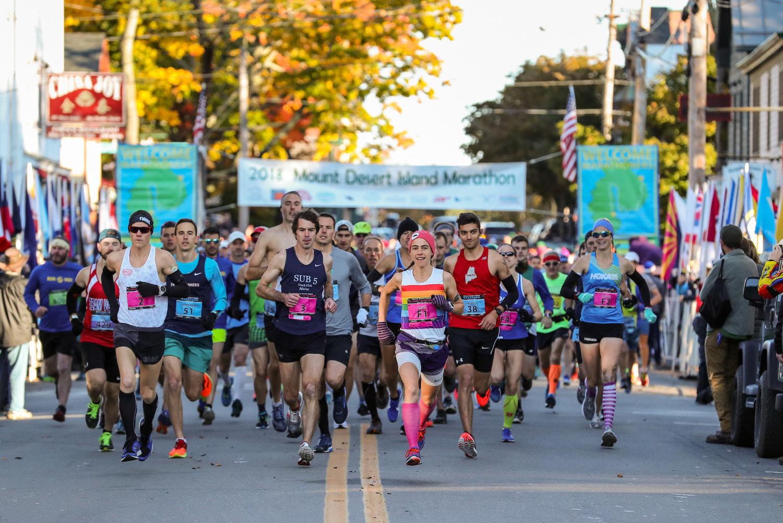Races: Marathon — Get REAL Maine: Run MDI! Mount Desert
