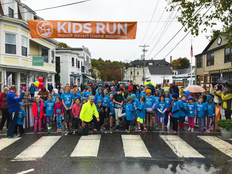 Kids Run — Get REAL Maine: Run MDI! Mount Desert Island Marathon