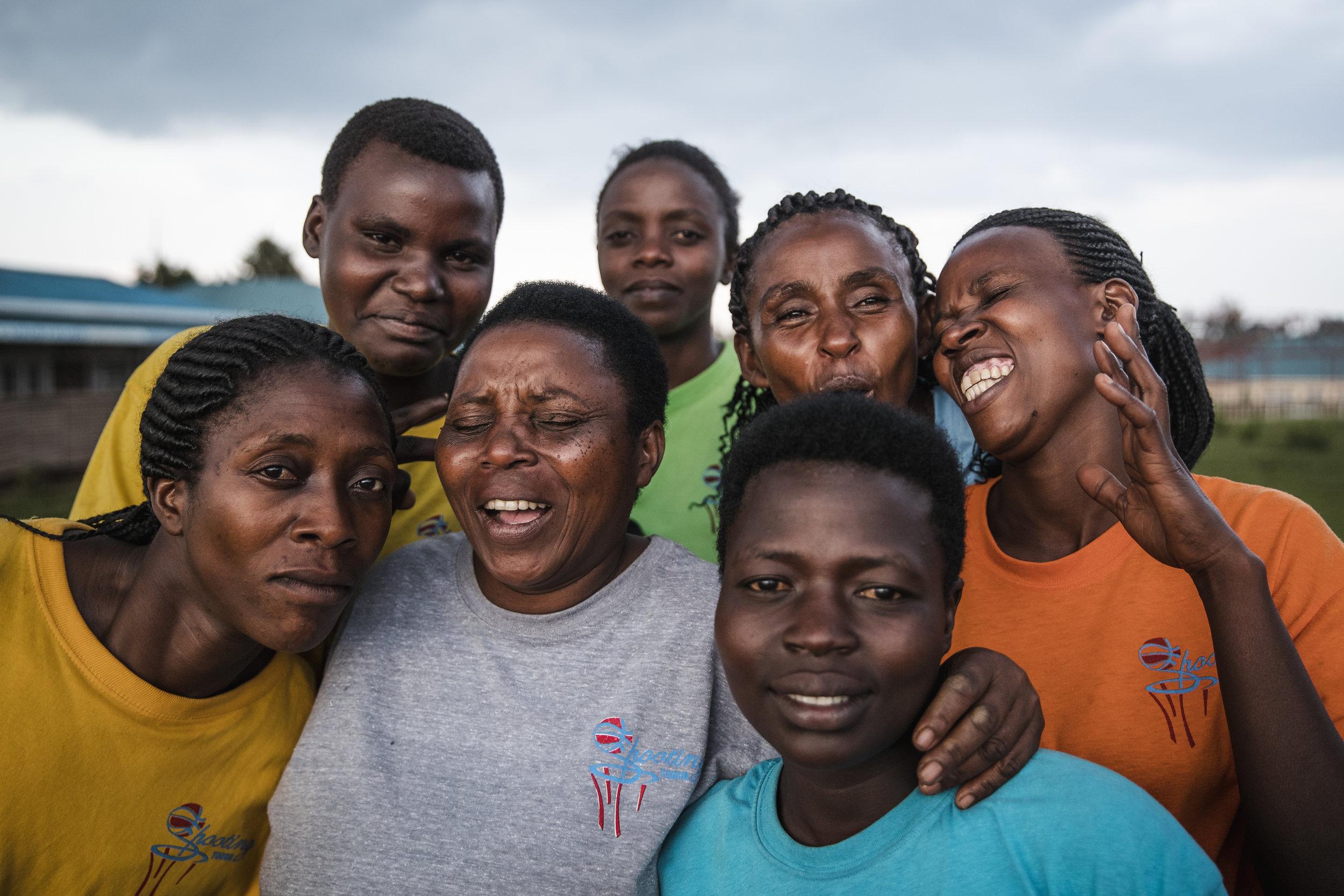 The women of team Nyamirama.