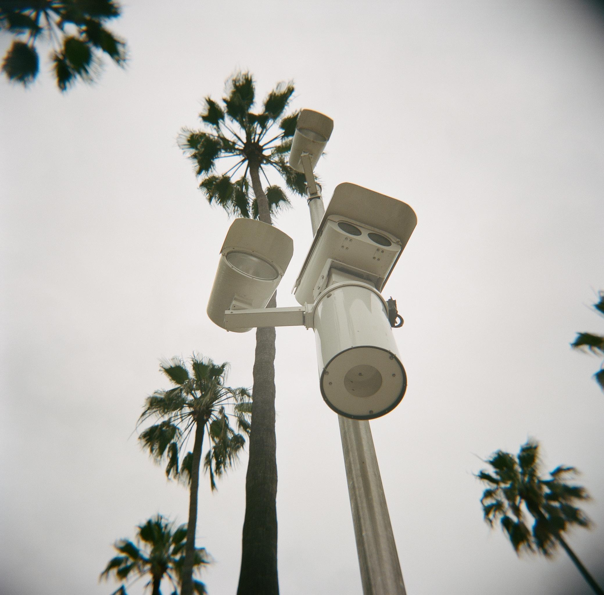 Surveillance in Beverly Hills.