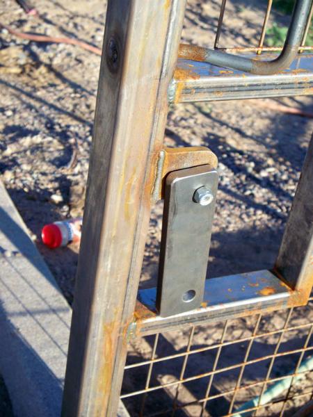 Fire department twin lock access bar