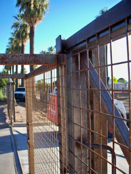 Gate closed.