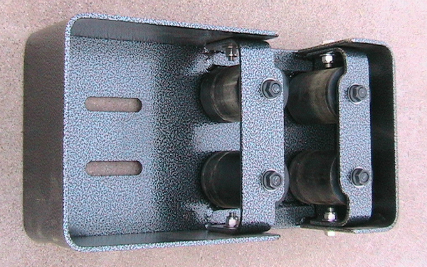 Roller box and adjustment