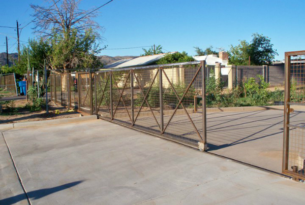 Waldorf School gate and fence project