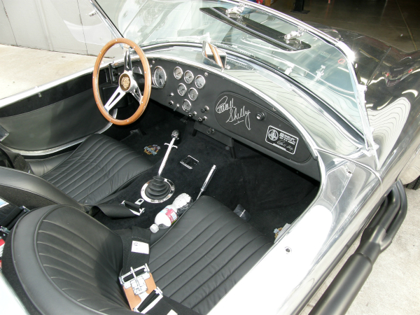 Aluminum body cobra interior
