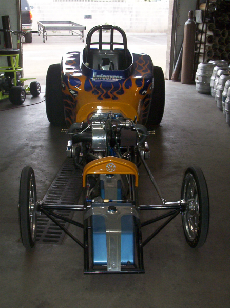 Competition Engineering Altered drag car