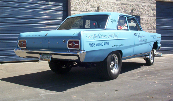 Gasser Fairlane hot rod