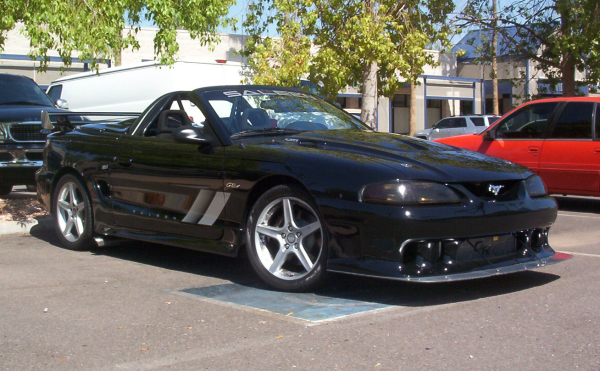 Saleen Mustang Prepped for Silver State Classic