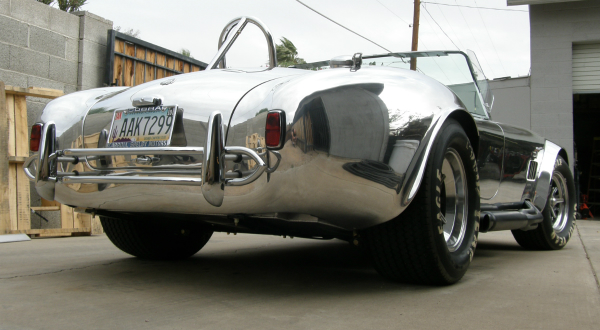 Shelby Cobra rear view