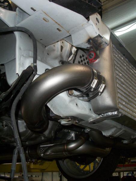 Acura intercooler plumbing