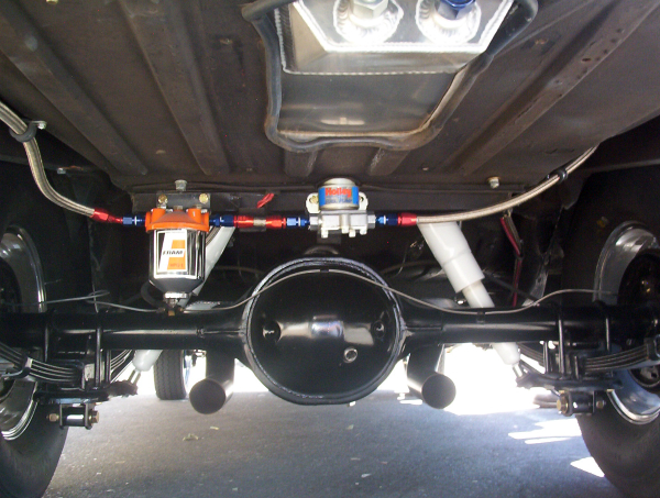 Exhaust turn outs Fairlane