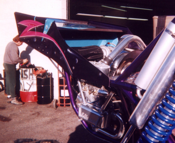 Intercooler Wing, Sandlimo Buggy