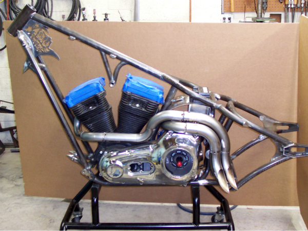 Lethal injection custom exhaust