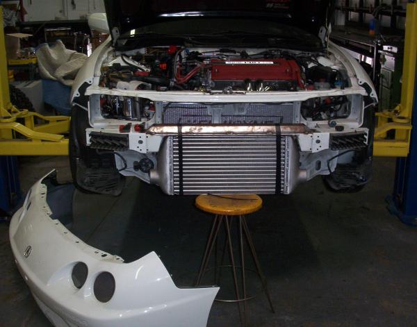Acura intercooler mount